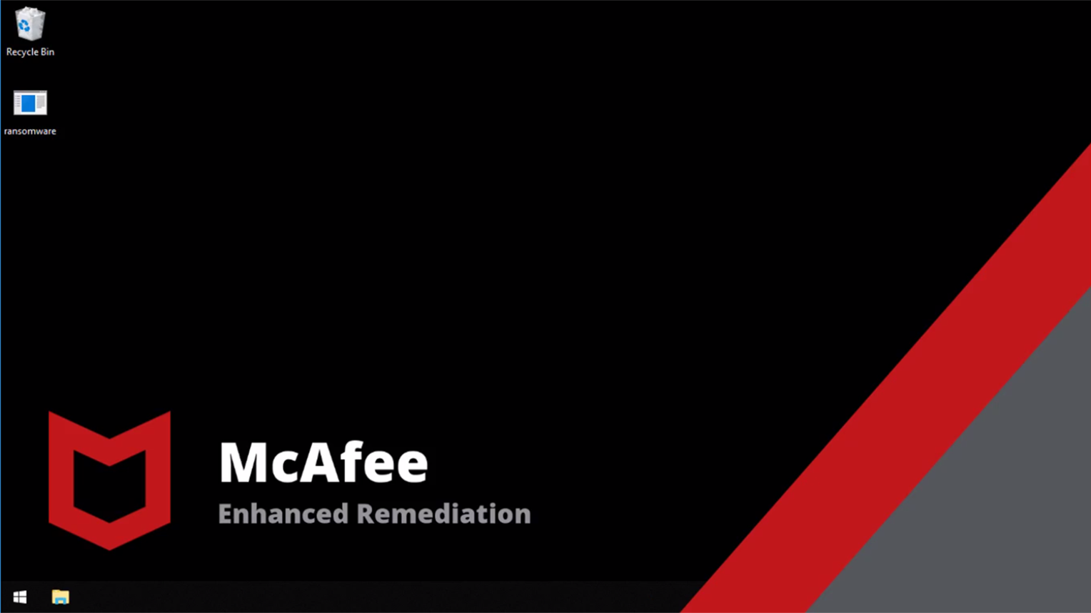 Watch McAfee enhanced remediation video