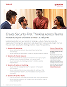 Create Security-First Thinking Across Teams