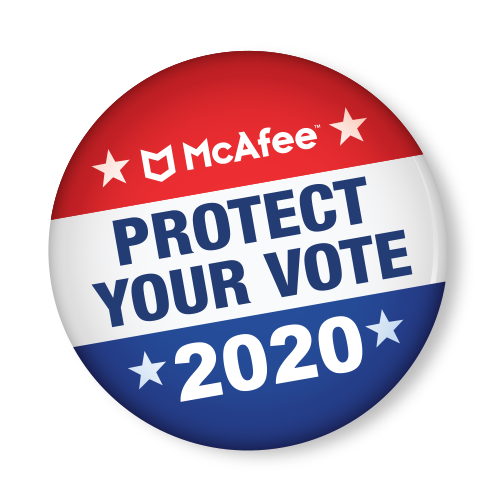 McAfee Voting Badge