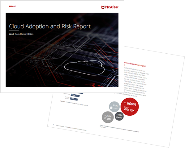 Cloud Adoption Risk Report Working from Home