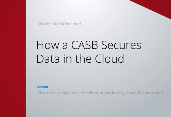 How CASB Secures Data in the Cloud