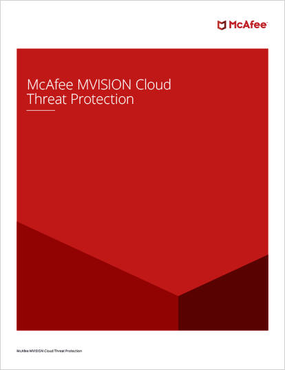MVISION Cloud Threat Protection