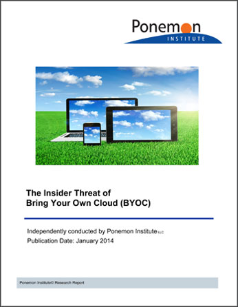 The Insider Threat of Bring Your Own Cloud