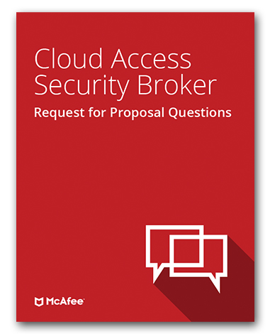 Cloud Access Security Broker - Request for Proposal Template