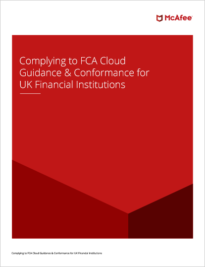 Complying to FCA Cloud Guidance and Conformance for UK Financial Institutions