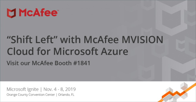 McAfee at Microsoft Ignite